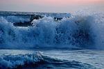 wave, breaking, ocean