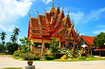 thailand, temple, roof