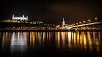 bratislava, the danube, river