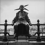 little princess, statue, budapest