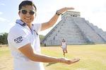 pyramid, maya, mexican