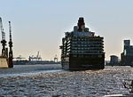 cruise ship, queen elisabeth, ship