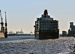 cruise ship, queen elisabeth, ship