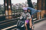 vietnam, hanoi, scooter