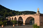 old bridge, heidelberg, neckar