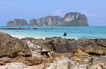 white sand beach, krabi, thailand