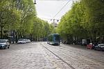 milan, tram, street