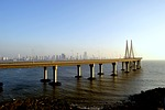 rajiv gandhi sea link, suspension bridge, bandra-worli sea link