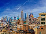 city scape, new york, skyline