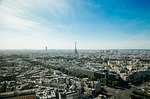 paris, cityscape, eiffel tower
