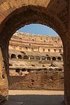 colosseum, arch, rome