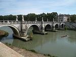 rome, bridge, italy