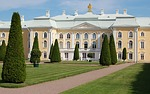 peterhof palace, antiques, architecture