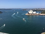 sydney harbor, opera house, bridge
