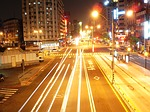 taipei, night photo, streetlights