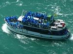 tourist boat, niagara fall, toronto