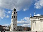 cathedral, vilnius, lithuania