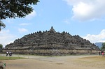 borobudur, temple, indonesia