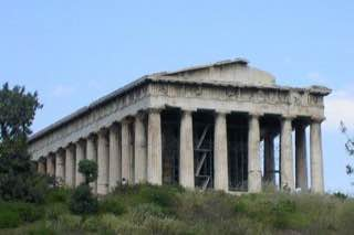 Temple of Hephaestus, greece , aegina