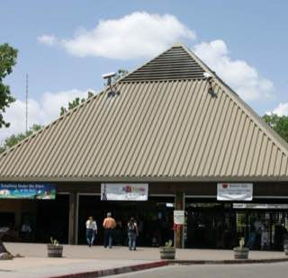 Rio Grande Zoo, usa , albuquerque