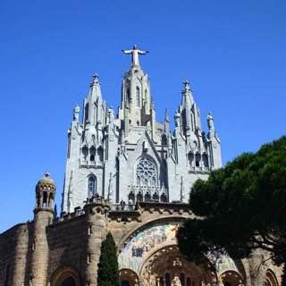 Tibidabo, spain , barcelona