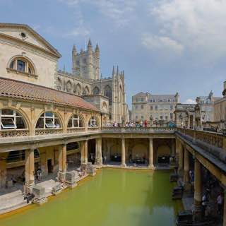 Roman Baths, uk , bath