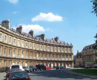 The Circus, Bath, uk , bath