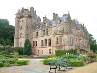 Belfast Castle, ireland , belfast