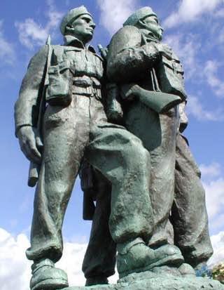 Commando Memorial, scotland , bennevis