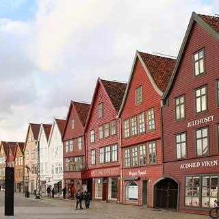 Bryggen, norway , bergen