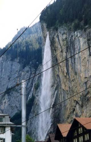 Staubbach Falls, switzerland , bern