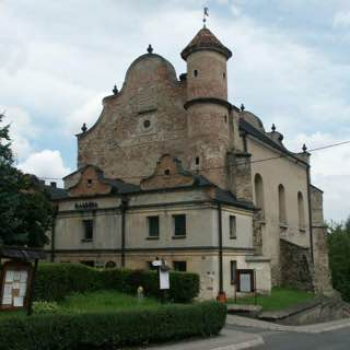 Lesko Synagogue, poland , bieszczadymountains