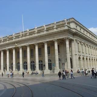 Grand Théâtre de Bordeaux, france , bordeaux