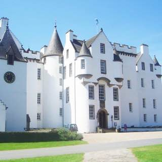 Blair Castle, scotland , brochofmousa