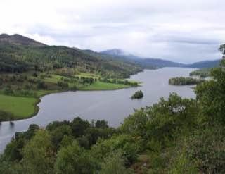 Loch Tummel, scotland , brochofmousa