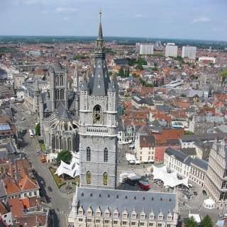 Belfry of Ghent, belgium , bruges