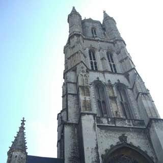 Saint Bavo Cathedral, belgium , bruges