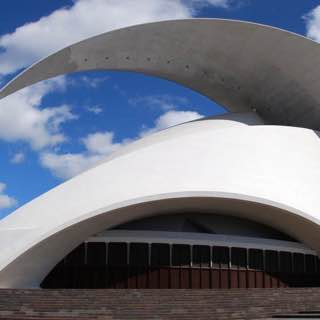 Auditorio de Tenerife, spain , candelaria