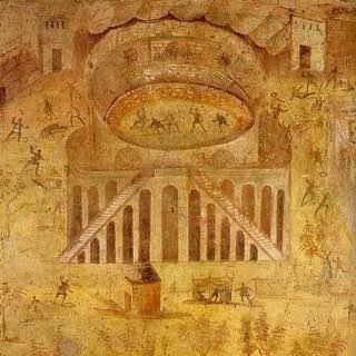 Amphitheatre of Pompeii, italy , capri