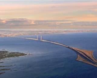 Øresund Bridge, denmark , copenhagen