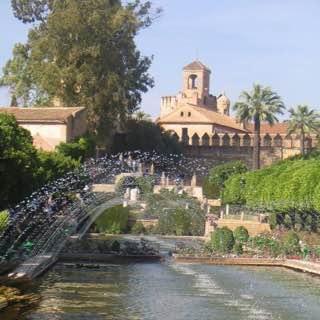Alcázar de los Reyes Cristianos, spain , cordoba