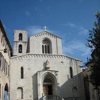 Grasse Cathedral, france , cotedazur