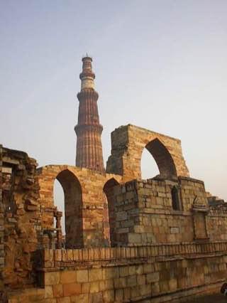 Qutb complex, india , delhi