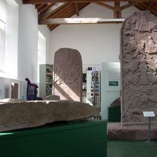 Meigle Sculptured Stone Museum, scotland , dundee