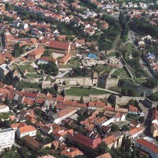 Castle of Eger, hungary , eger
