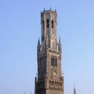 Belfry of Bruges, belgium , ghent