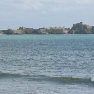 Elizabeth Castle, uk , guernsey