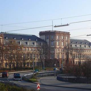 Mannheim Palace, germany , heidelberg