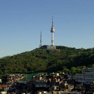 N Seoul Tower, southkorea , incheon