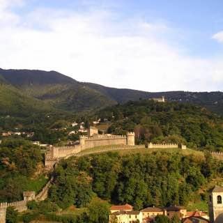 Three Castles of Bellinzona, italy , italianlakes